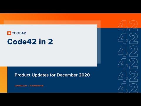 December 2020: Code42 in 2