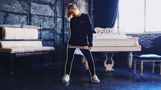 Девушка круто танцует 🔥 Shuffle Dance & Cutting Shapes