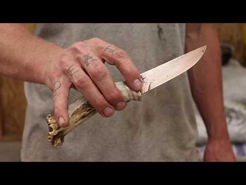 ANTLER HANDLE KNIFE