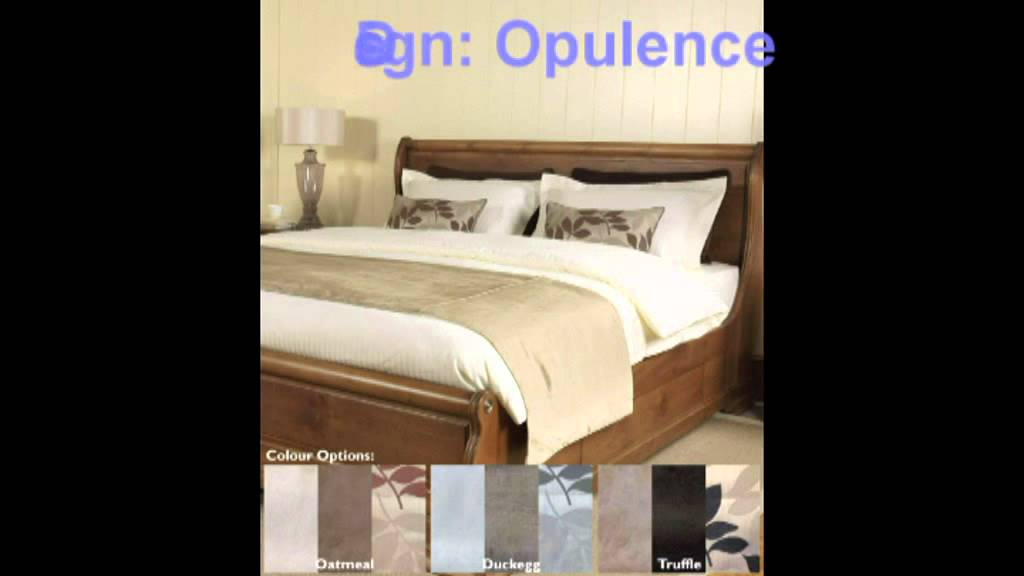 7fab513df8b Luxury 4ft Small Double Bedding Sets - YouTube