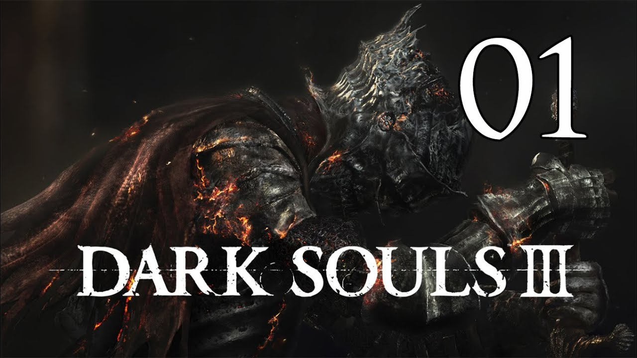 dark souls 3 let s play part 1 cemetery of ash youtube
