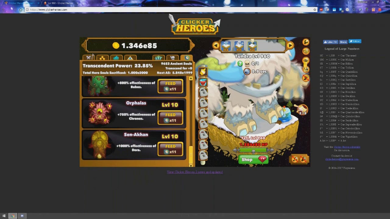 clicker heroes browser version save editing