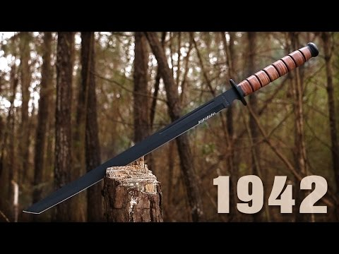US Marine 1942 Soldier Sword & Sheath - $29.99