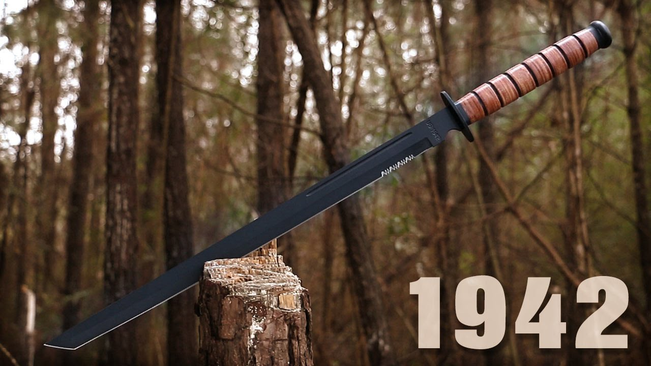 Us Marine 1942 Soldier Sword Amp Sheath 29 99 Youtube