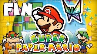 Super Paper Mario : Fin | Let's Play [Live]