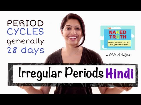 Are Irregular Periods Normal Hindi Youtube