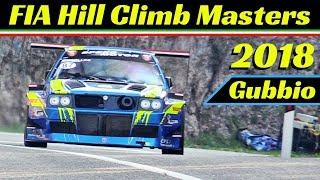 FIA Hill Climb Masters Race 2018 Highlights, Gubbio, Italy - Faggioli, Merli, Scola & More!