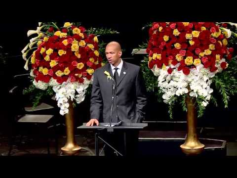 Monty Williams  Speaks at Wife funeral ***MUST SEE***