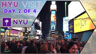 ☆ New York University (NYU) Time Square & Coffee Shops - Day 2 of 4