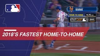 Relive the fastest home-to-home times of 2018