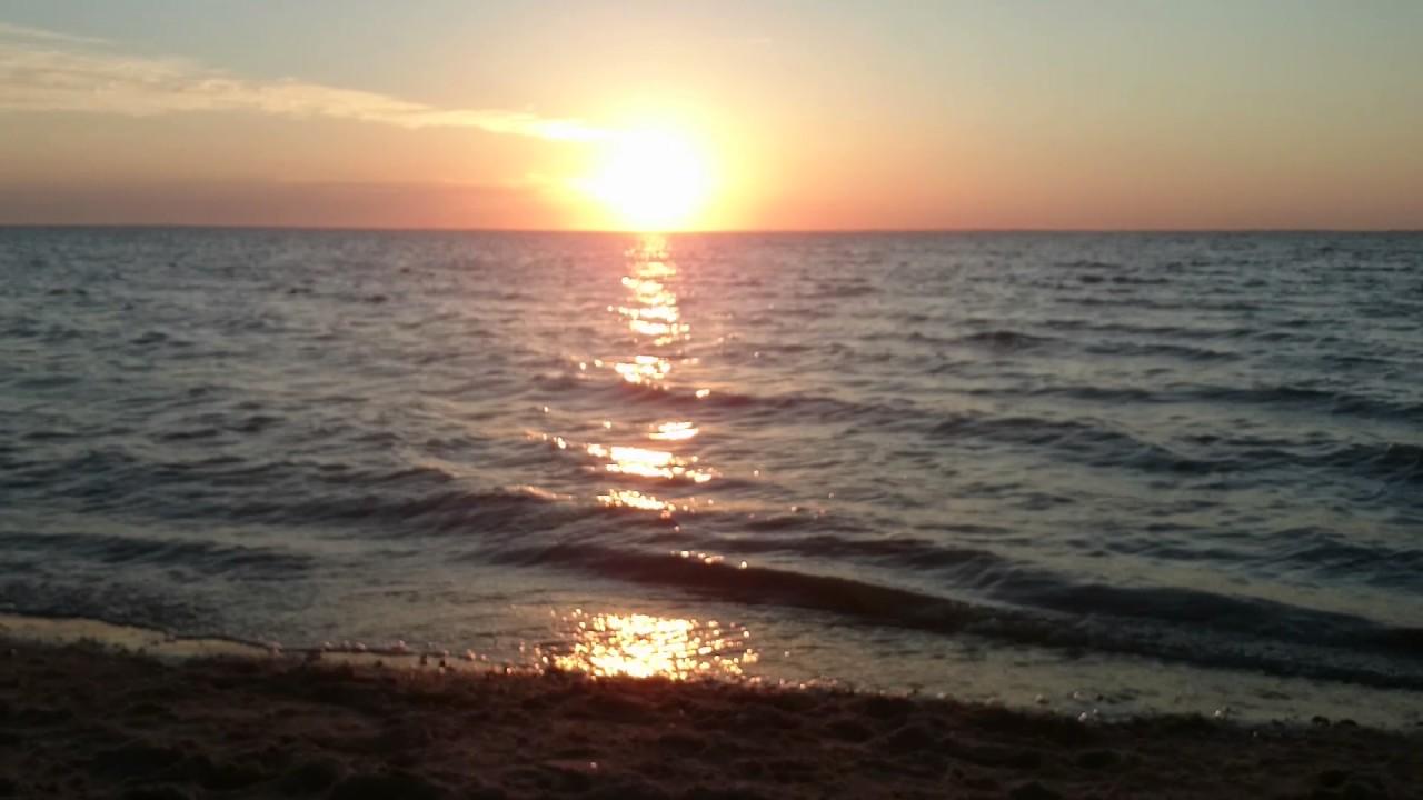 nordsee küste  meeresrauschen zum sonnenuntergang 1007