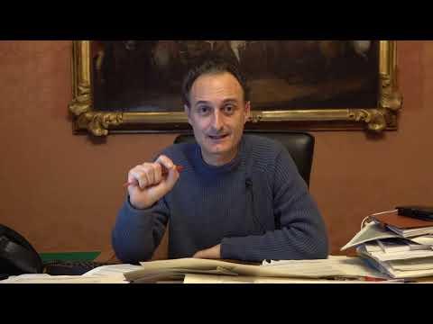 Jacopo Massaro, sindaco di Belluno.  Chiusura scuo...