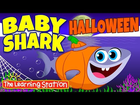 baby-shark-halloween-song-👻-original-version-👻-halloween-songs-for-kids-👻-the-learning-station