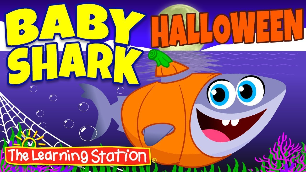 Baby Shark Halloween Song Original Version Halloween Songs For Kids The Learning Station Youtube