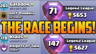 HIGH STAKES RACE! The Quest to 7000 Trophies in Clash of Clans!