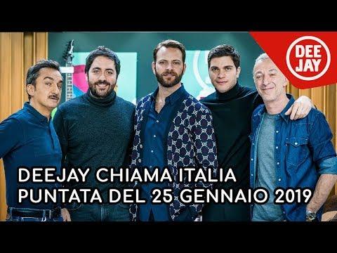Deejay Chiama Italia - Ospiti Alessandro Borghi, Alessio Lapice E Matteo Rovere