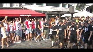 AJAX FANS VERSUS  Sk Sturm Graz FANS  @ THE REMBRANDSPLEIN
