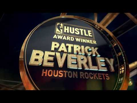 Patrick Beverley wins the Hustle Award at the 2017 NBA Awards | NBA on TNT