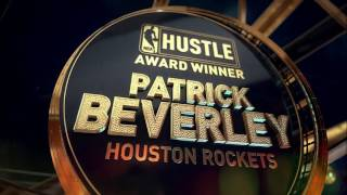 Patrick Beverley wins the Hustle Award at the 2017 NBA Awards | NBA on TNT