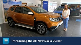 All-New 2018 Dacia Duster Walk Around Review