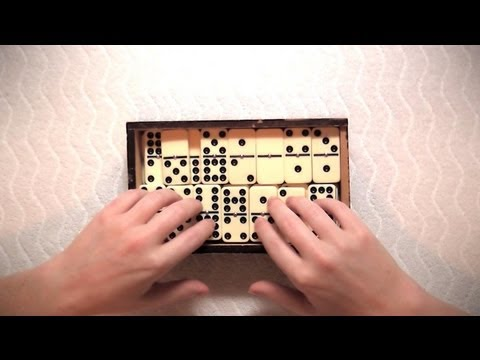 *REUPLOAD* ASMR Sounds: Dominoes, Crinkly Paper, and Boxes