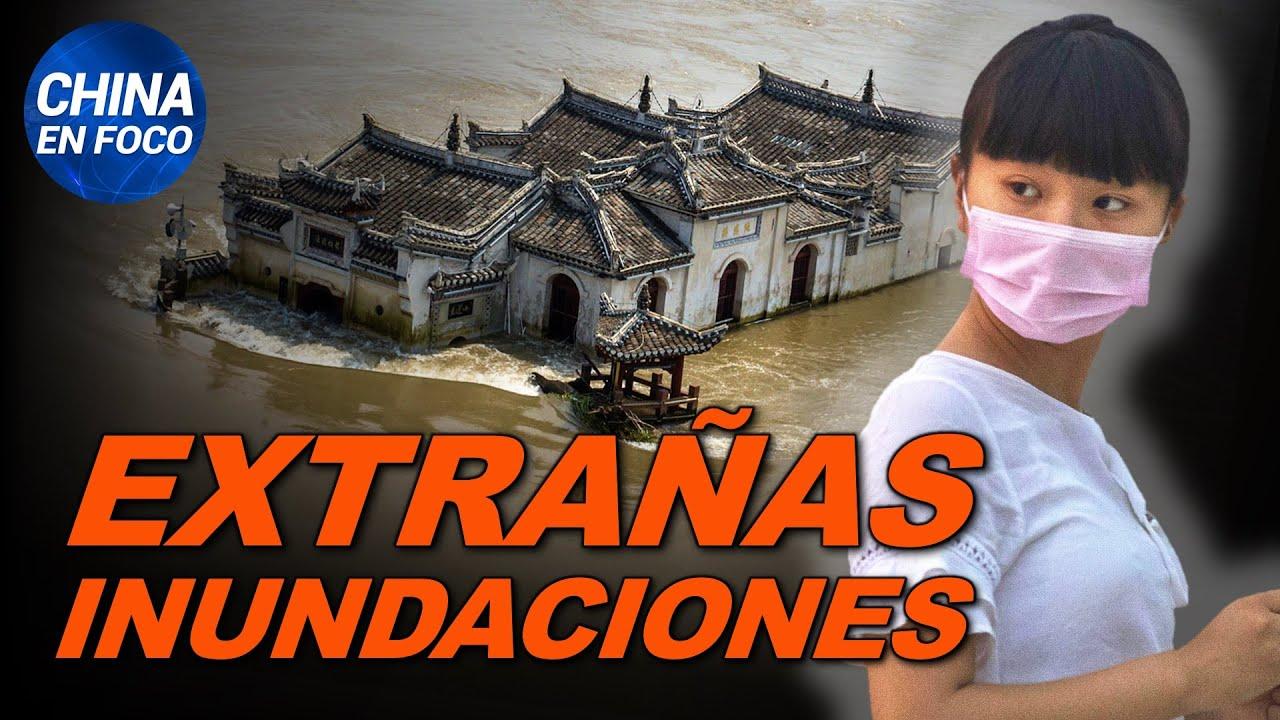 Inundaciones extrañas y repentinas en China. Modelo desaparece por revelar la verdad | China en Foco