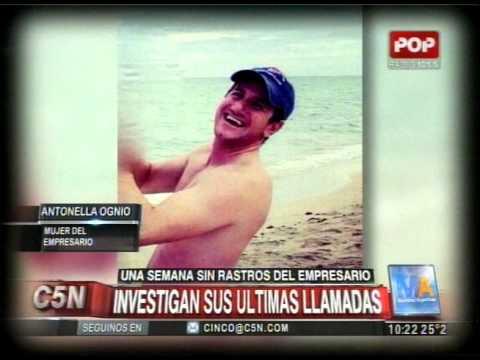 C5N - POLICIALES: INVESTIGAN LAS ULTIMAS LLAMADAS DE DAMIAN STEFANINI