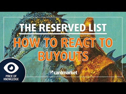 Reserved List Buyouts - What does it mean? Price of Knowledge