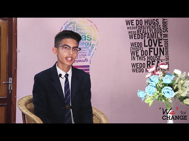 International Youth Day 2019 |Manoj Saud |Member ('We' for Change)
