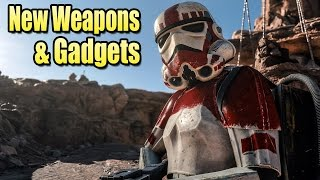 New Weapons & Gadgets Revealed - Star Wars Battlefront
