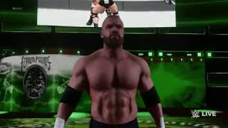 WWE 2K18 HHH : Titantron Movie Create