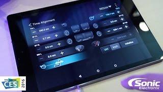 Clarion Full Digital Sound System   Hi Res Car Audio   Quick Look   CES 2016