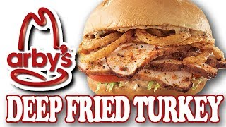 Cajun Deep Fried Turkey Sandwich from Arby's
