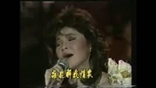 80s Taiwanese singers -Wang Zhi Lei  王芷蕾 -  晚风