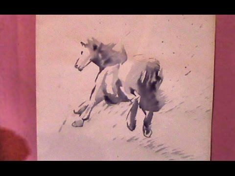 How To Cheat At Painting (Brush And Ink, or Watercolour)