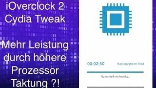 iOverclock2 - Turbo für iPhone & Co. durch das Übertakten des Prozessors - Cydia Tweak