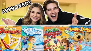 Testing Funny Board Games w/ Matpat! Video