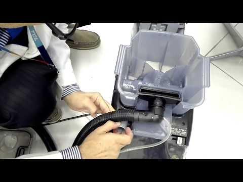 طريقة غسيل المفروشات و الكنب بمكنسة هوفر الشهيرة F5916901-   Hoover - Best vacuum cleaner - Vax vacu