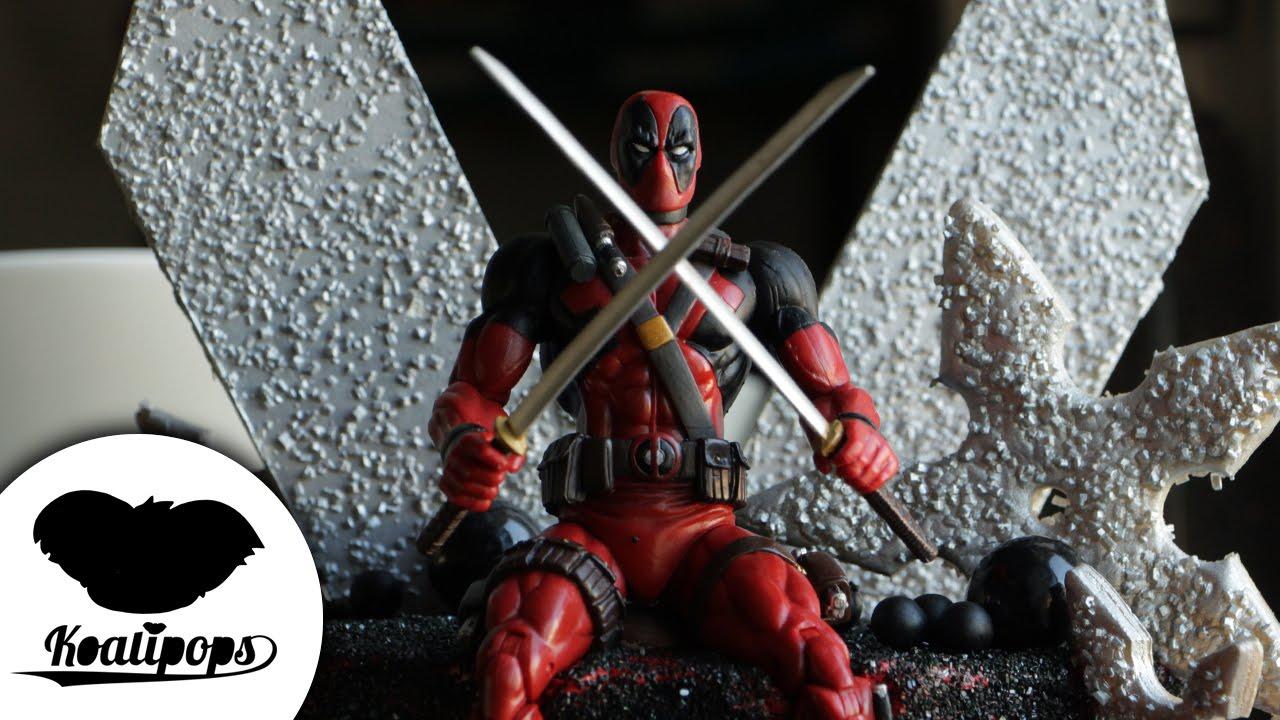 X Men Deadpool Birthday Cake Youtube
