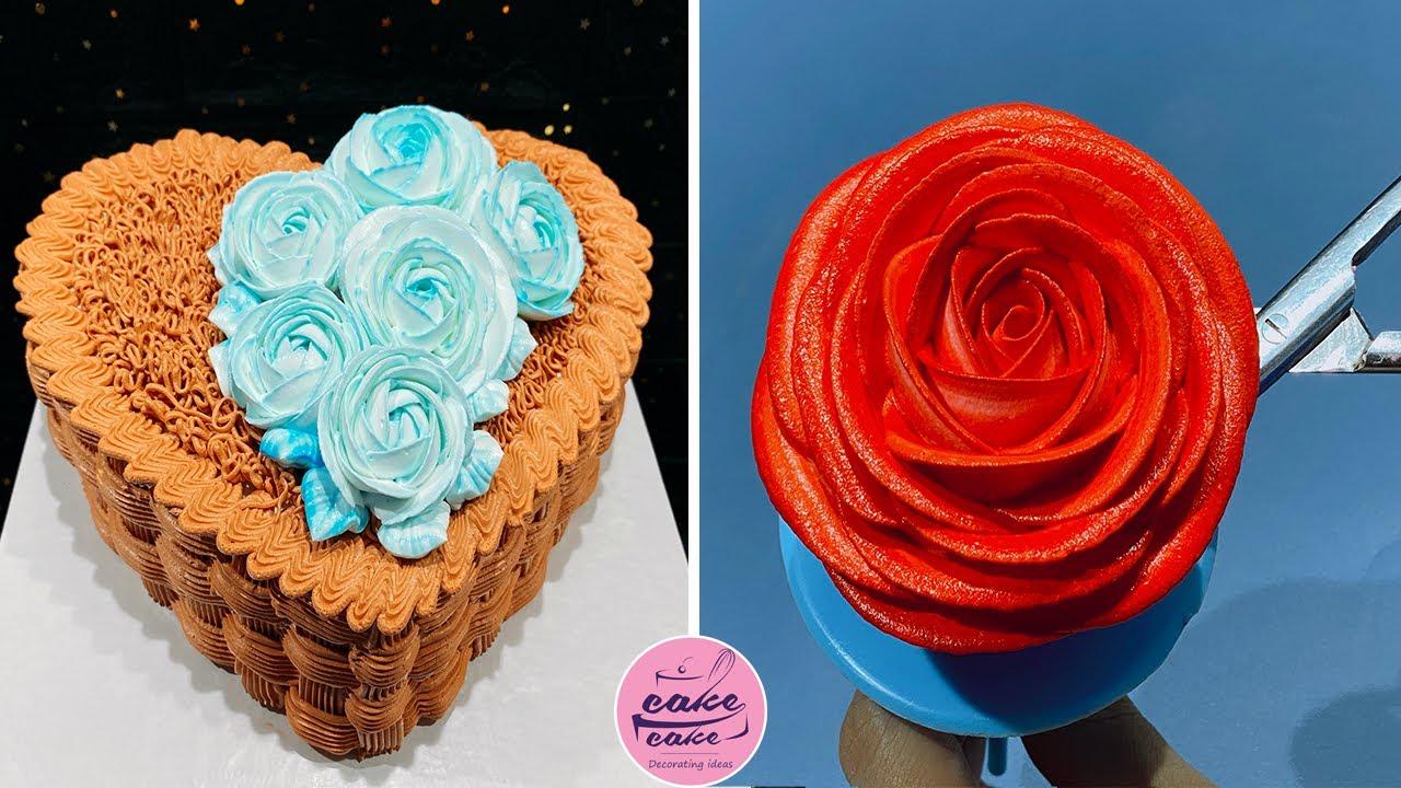 Heart Cake Decorating Tutorials For Beginner | Cake Lovers Like Cake Design 2020 | Cake Making
