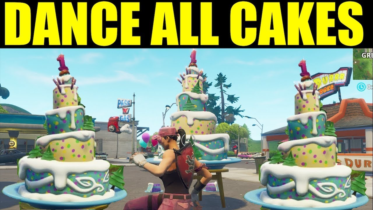 All Birthday Cake Locations