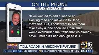 Toll roads in Arizona?