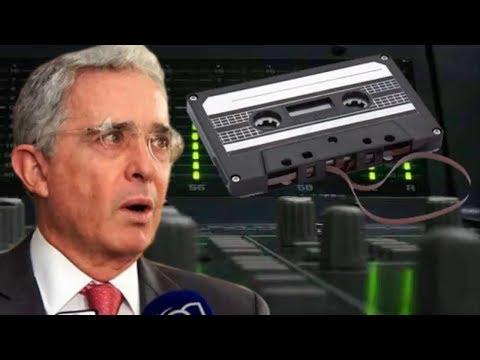 Uribe interceptado por la FISCALIA / PARAMILITARISMO