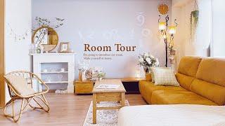 【ルームツアー】インテリアを飾りつつ収納はスッキリ使いやすく。参考にしたい収納アイデアたくさん 夫婦2人暮らし+ワンちゃん DIYで和室リフォーム 3LDK Japanese  room tour
