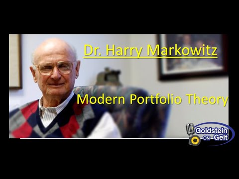 Dr. Harry Markowitz – Modern Portfolio Theory – interview – Goldstein on Gelt