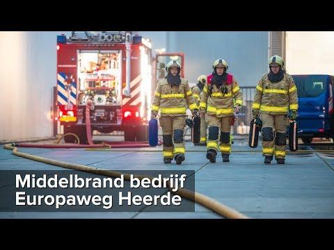 Middelbrand bedrijf Europaweg Heerde - ©StefanVerkerk.nl