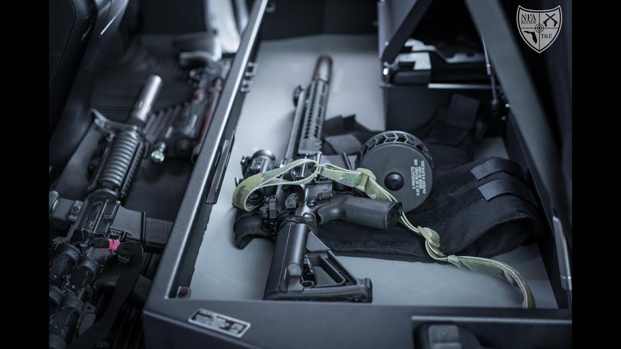 Locker Down Vehicle Rifle Safe Youtube