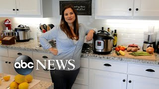 Woman credits Instant Pot for her nearly 80-pound weight loss
