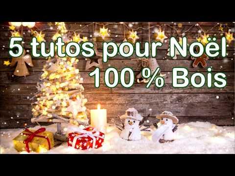 Comment créer de la décoration simple en bois pour Noël ?