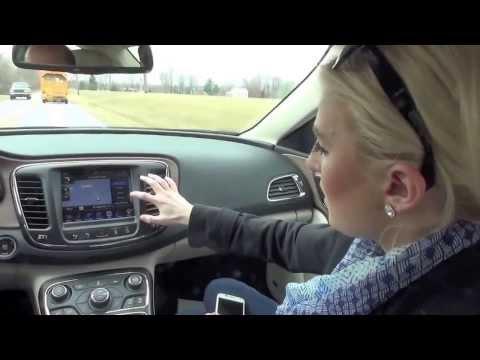 2015 Chrysler 200 Uconnect by Ashley Underdale - YouTube